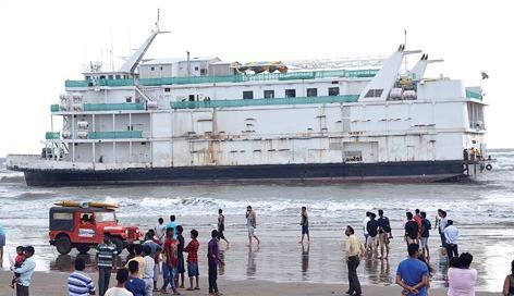 Beached Goa Casino Vessel Mat be Written Off