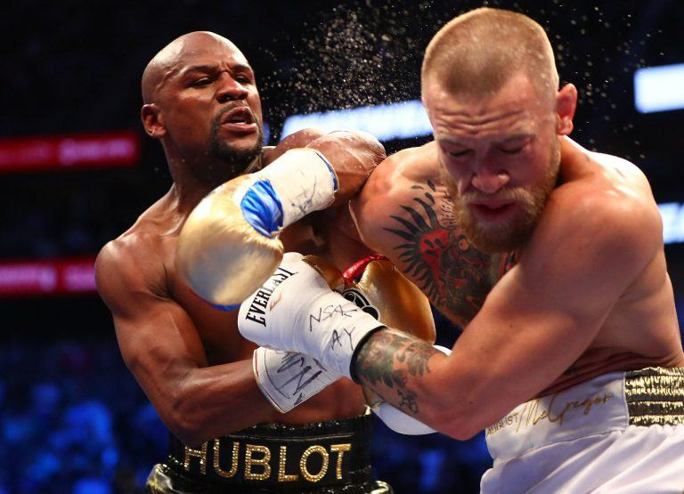 Atlantic City boxing Mayweather McGregor