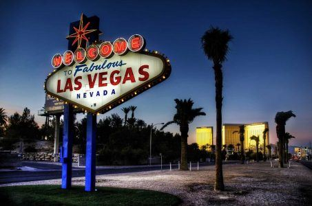 Nevada gaming revenue Las Vegas