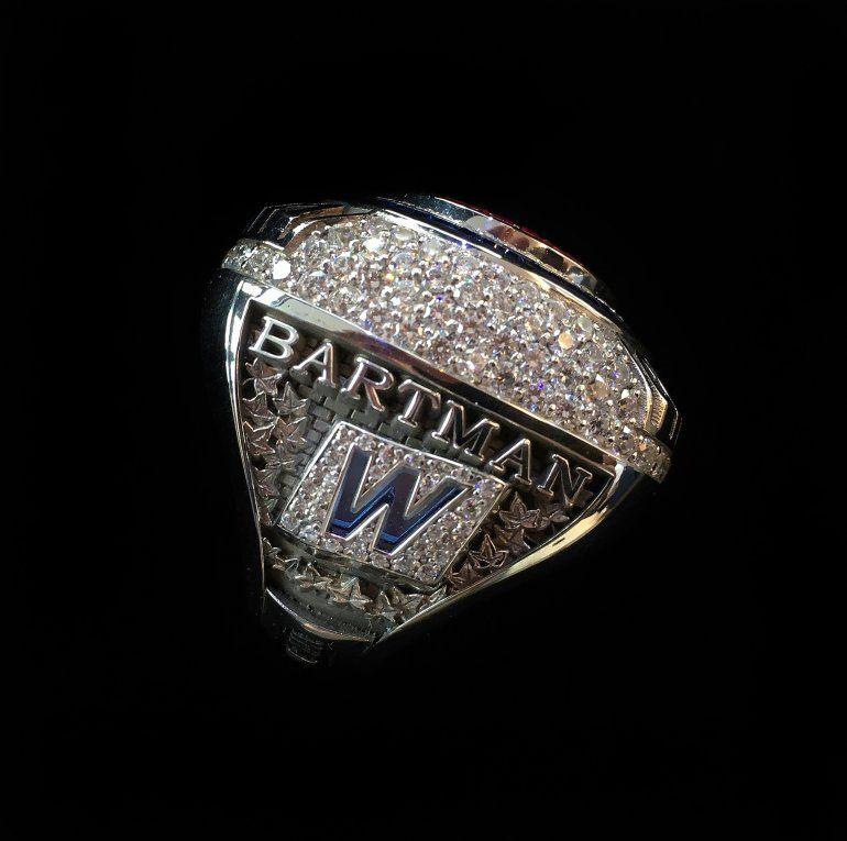 Steve Bartman's World Series ring