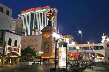 Trump Taj Mahal Hard Rock Atlantic City