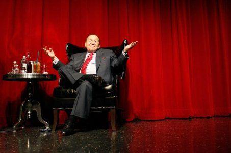Sheldon Adelson salary increase