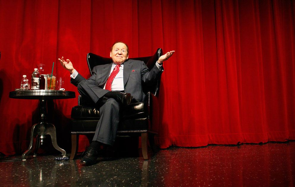Sheldon Adelson salary increase