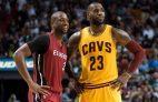 Dwyane Wade LeBron James Cleveland