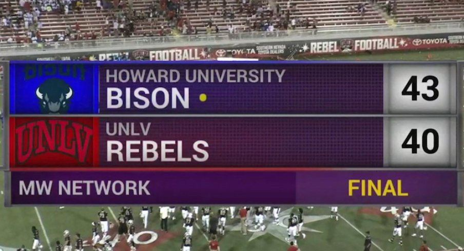 Howard University UNLV college football