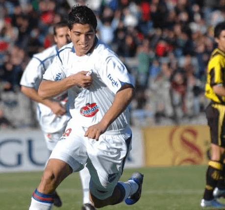 Luis Suarez, Nacional Uruguay