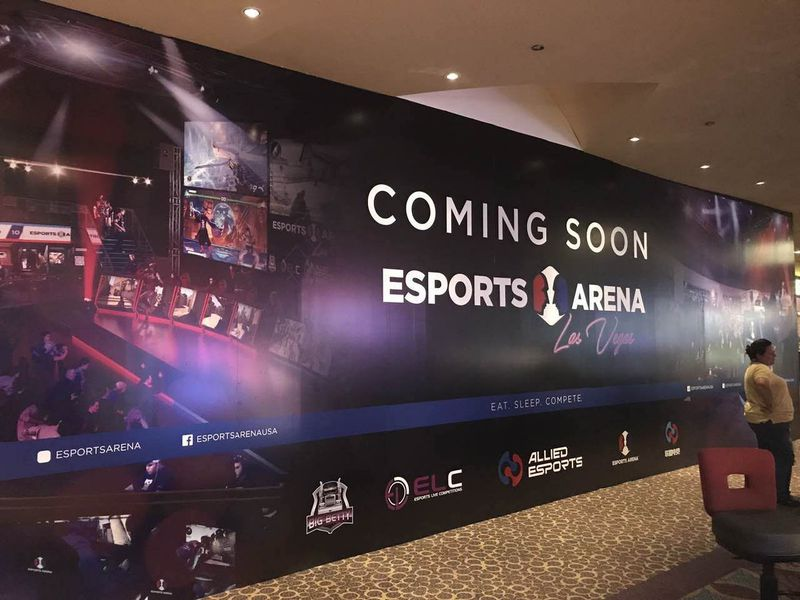 eSports conference Luxor Strip casinos