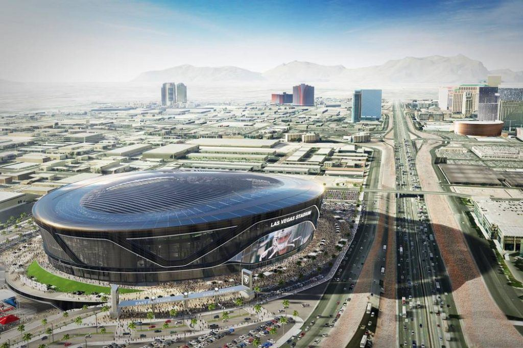 Future site of Las Vegas Stadium