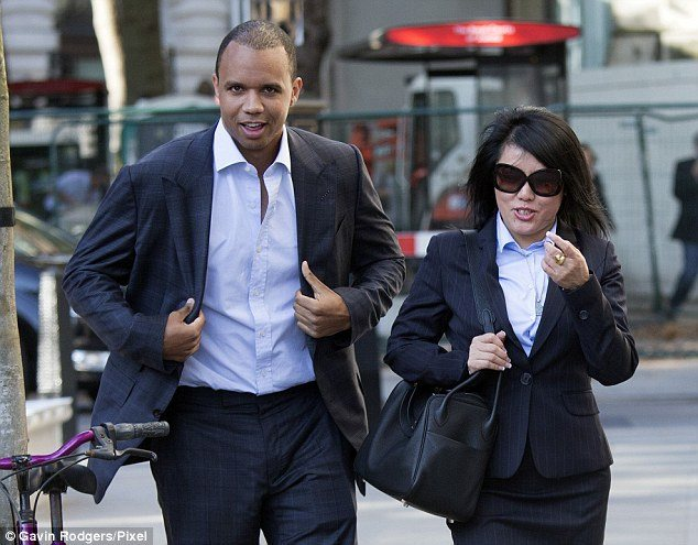 Phil Ivey and Kelly Sun on trial
