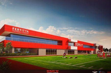 UNLV Fertitta football complex funding