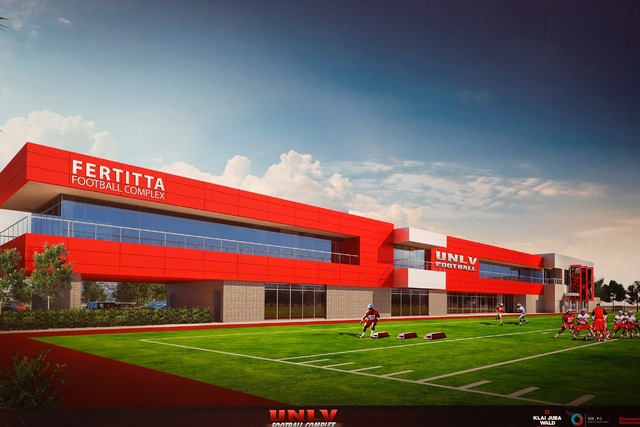 UNLV Fertitta football complex funding