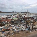 Barbuda, devastated by Hurricane Irma