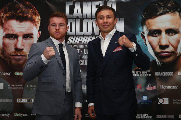 Canelo Alvarez Gennady Golovkin boxing