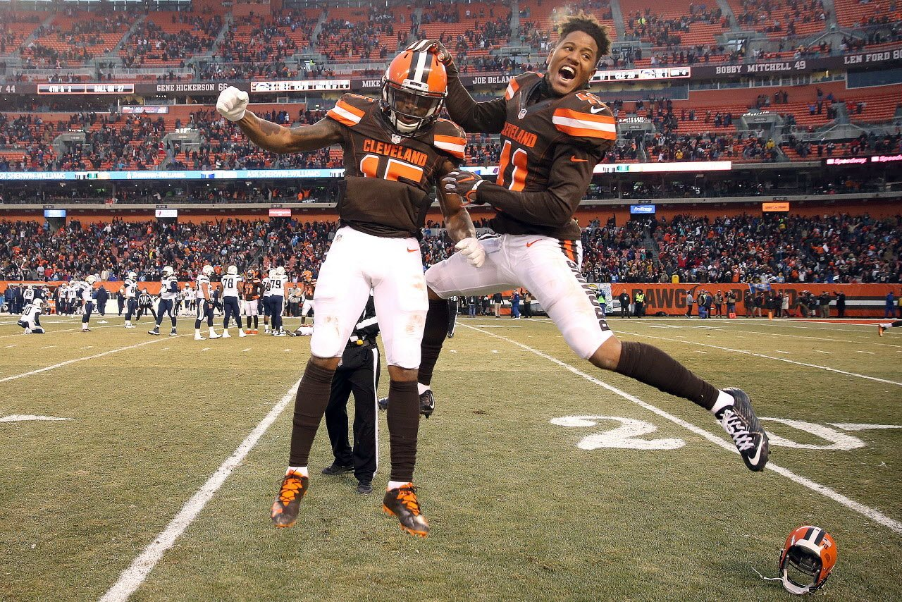 Cleveland Browns Favored For First Time Since 2015