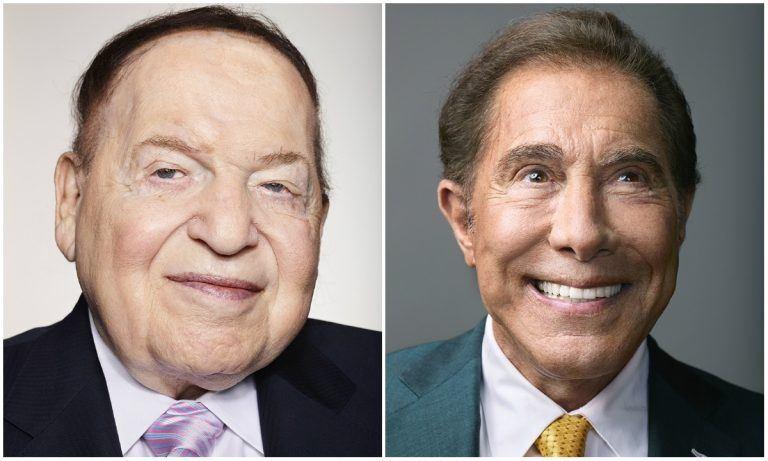 Sheldon Adelson Steve Wynn Forbes