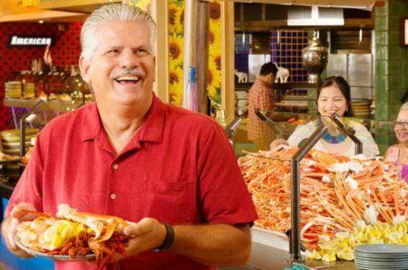 Gulf Coast casino seafood buffet