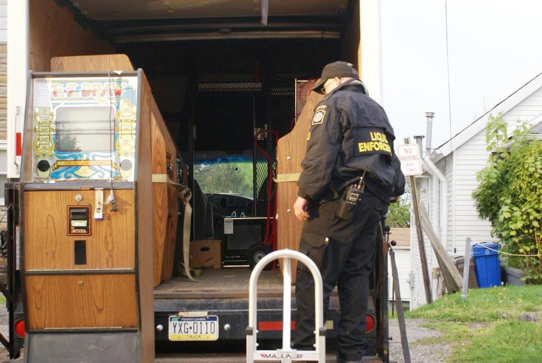 Pennsylvania Senate illegal gambling