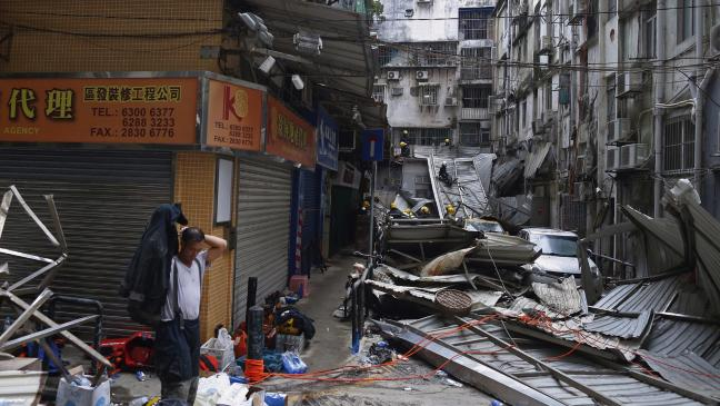 Macau bars entry to journalist in wake of Typhoon Hato