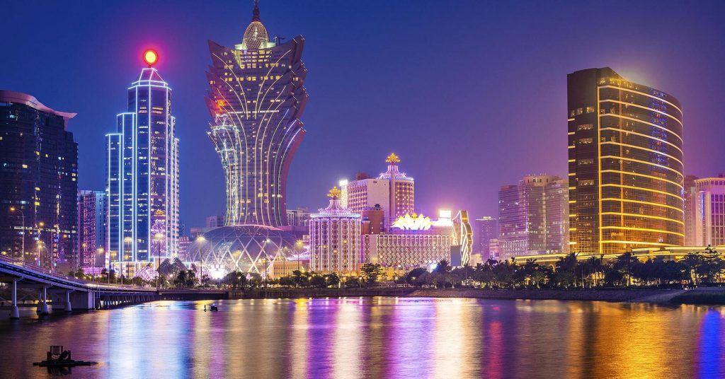 Casinos make up the Macau skyline