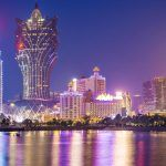 Casinos make up the Macau skyline