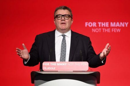 Labour Deputy Leader Tom Watson at Labour Party Conference