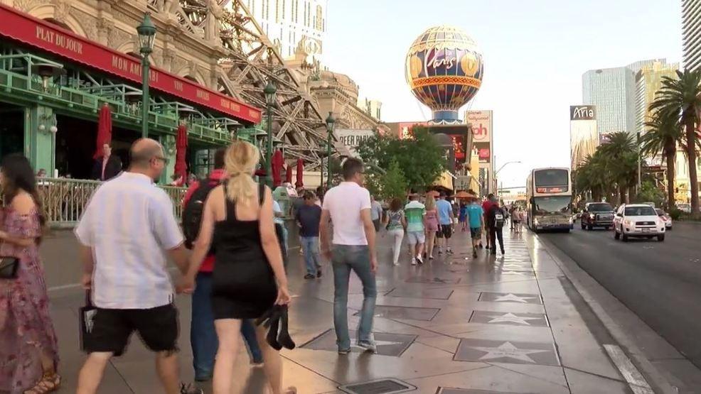 Las Vegas Strip security bollards