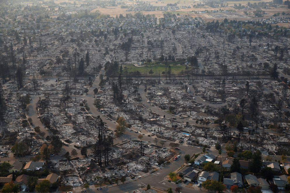 wine country casinos California fire