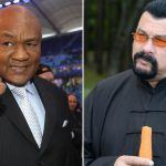 George Foreman Challenges Actor Stephan Seagal to Fight