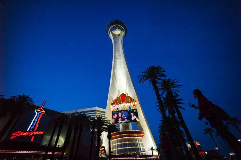 Stratosphere Golden Entertainment Las Vegas