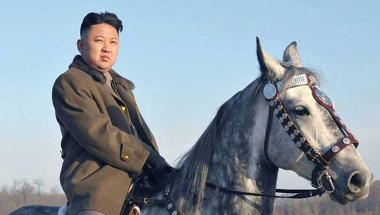 North Korea horse racing