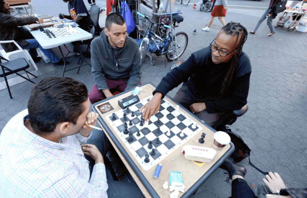 new york chess hustler Ambakisye Osayaba