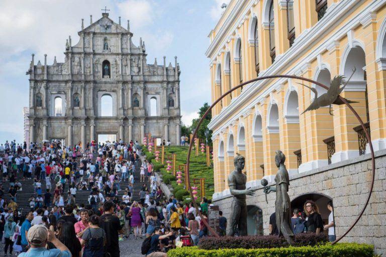 Macau Golden Week visitation