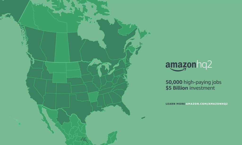 Paddy Power Pegs Atlanta as Favorite for Amazon HQ2 Location