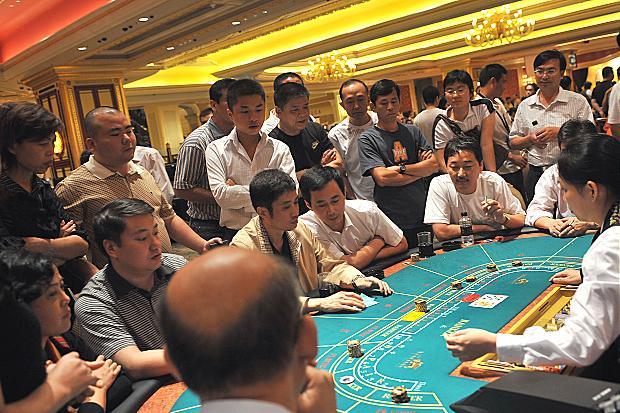 Average Macau gambler is 36 and earns $34,000
