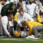 Aaron Rodgers Suffers Broken Collarbone, Could Miss Rest of Season