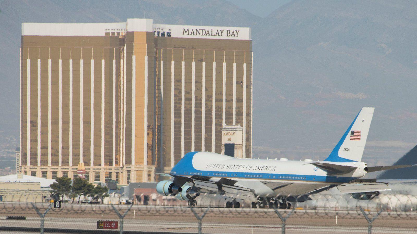 President Donald Trump Las Vegas shooting