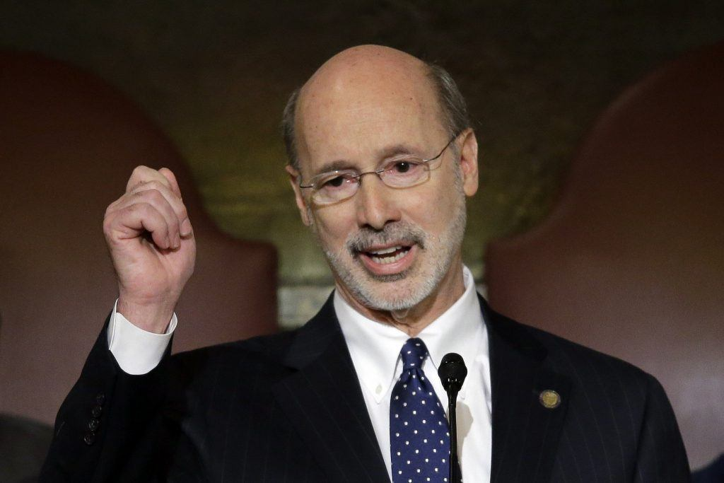 Pennsylvania Governor Tom Wolf frustrated over budget deal collapse
