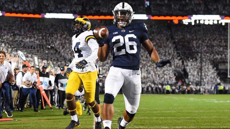Penn State running back and Heisman Trophy hopeful Saquon Barkley