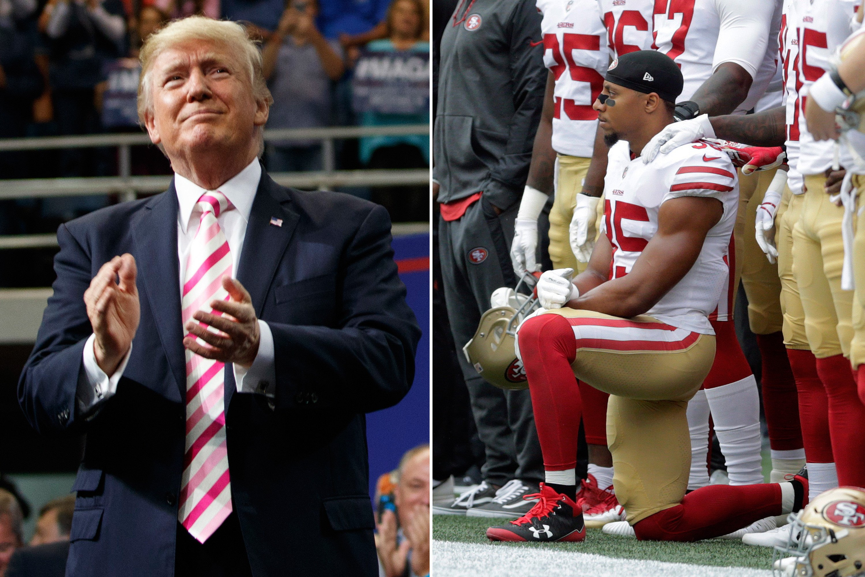 Roger Goodell NFL kneeling controversy
