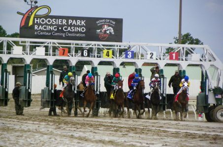 Caesars Entertainment Indiana racetrack