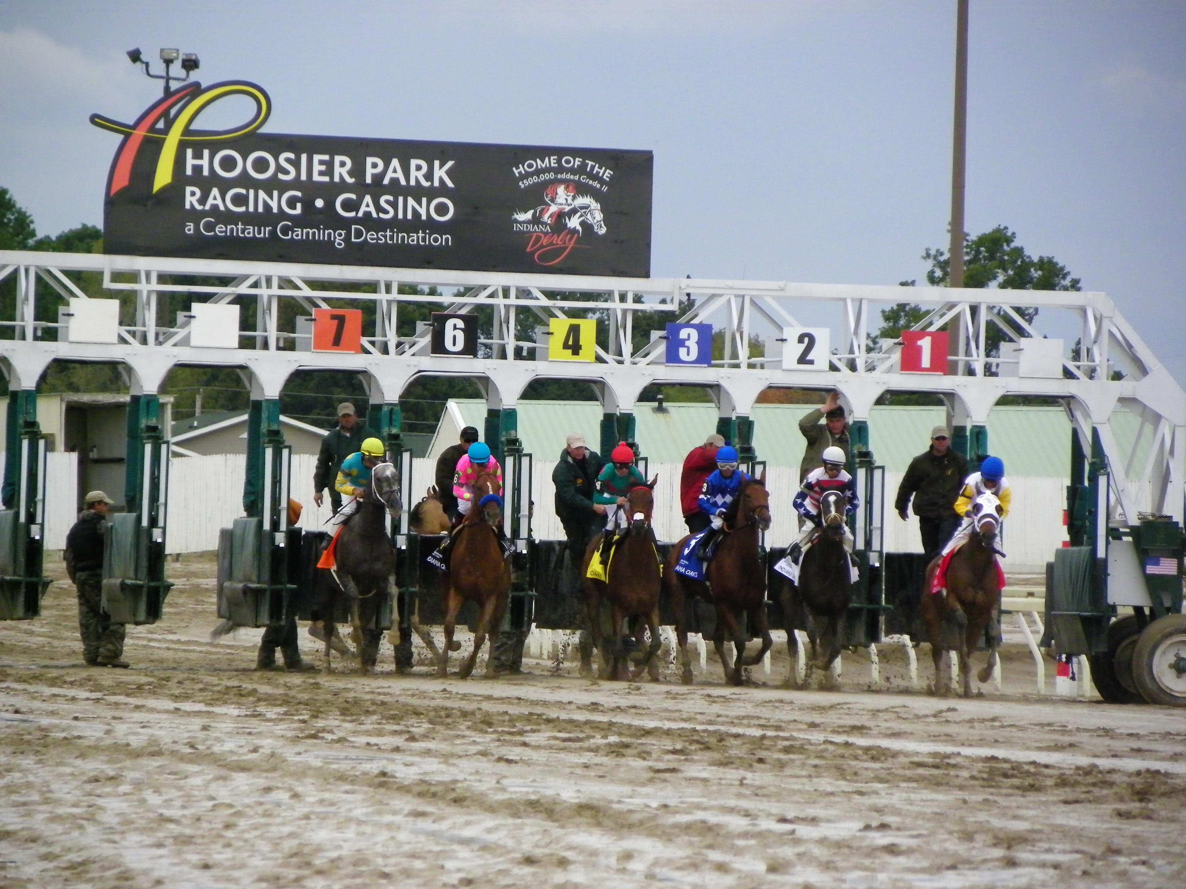 Caesars Entertainment Indiana racetrack