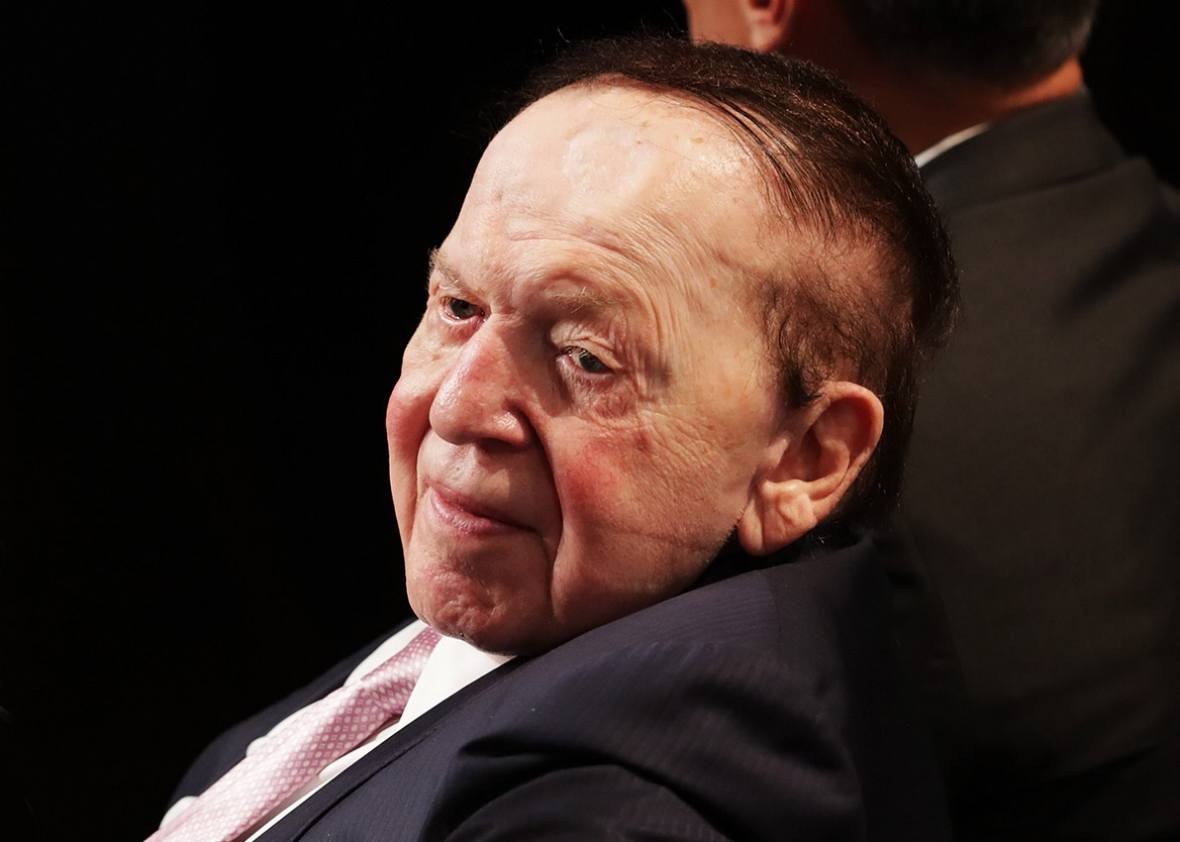 Sheldon Adelson defamation Macau