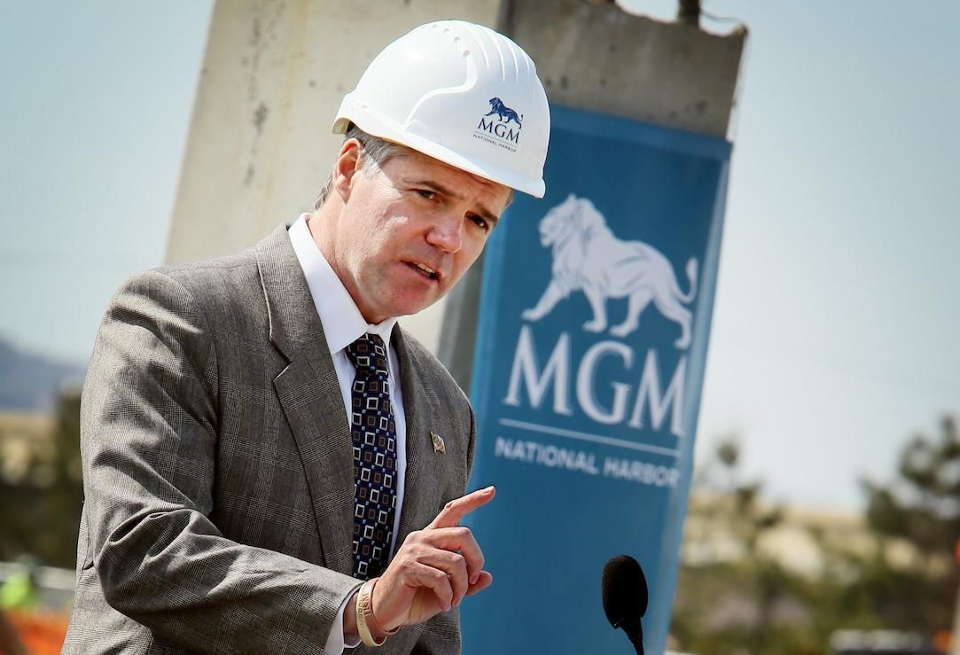 MGM Resorts Jim Murren development