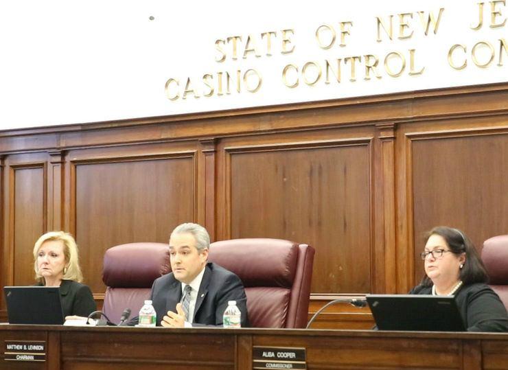 Matthew Levinson Casino Control Commission