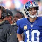 New York Giants Bench Eli Manning, Odds Increase