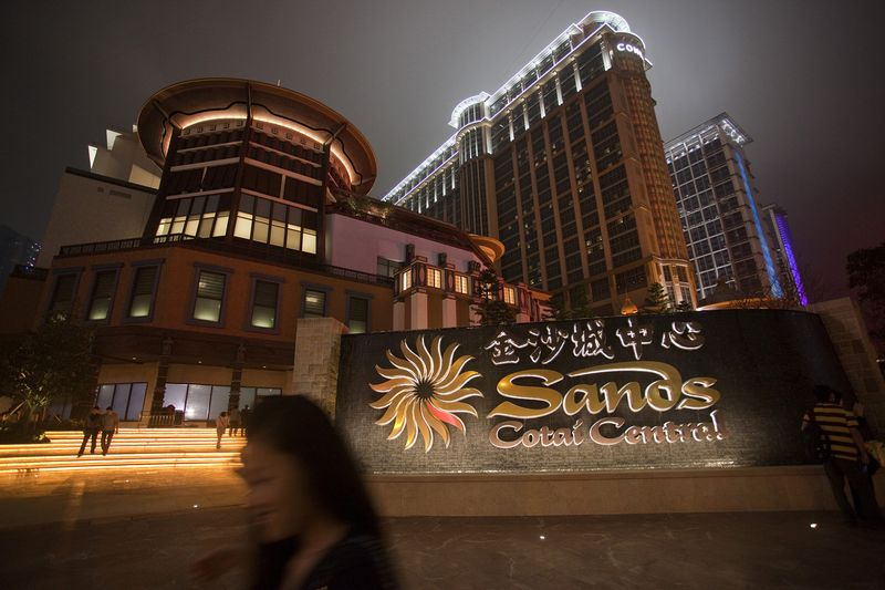 sands cotai central rebranding