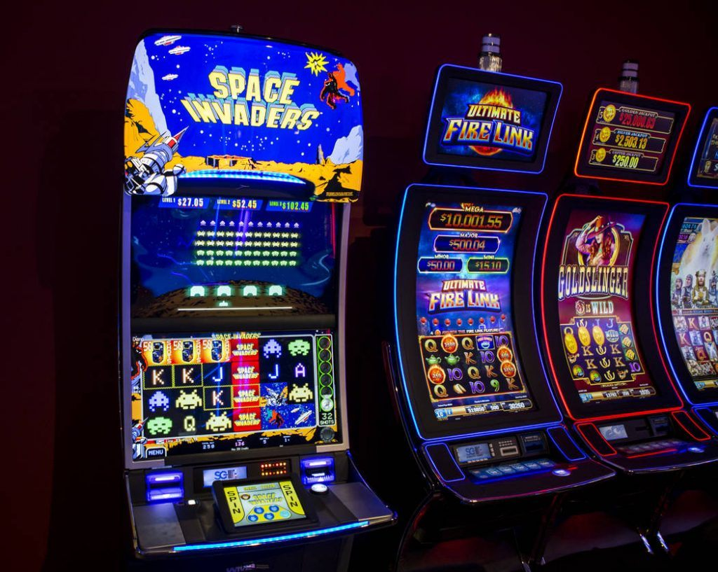 Skill based slot machines