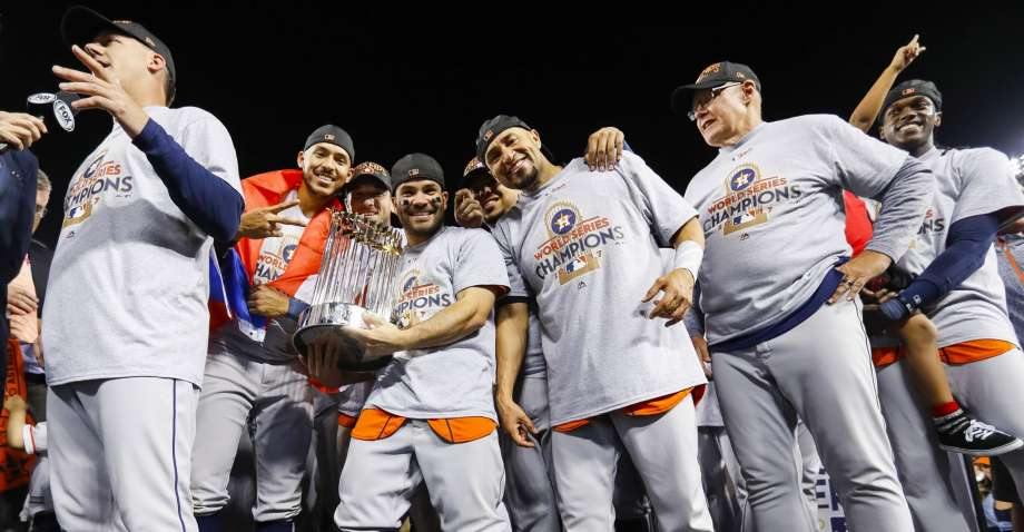pretty nice 5ec19 3b042 Houston Astros Win World Series, Among Favorites to Repeat ...