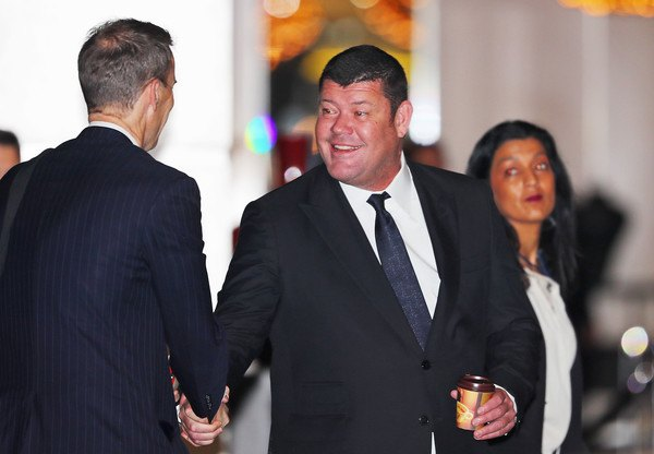 James Packer Crown Resorts slots tampering scandal