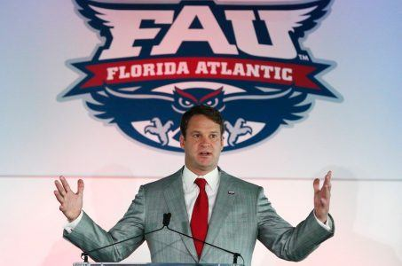 Florida Atlantic coach Lane Kiffin